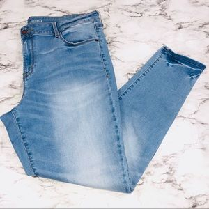 Old Navy Light Blue Rock Star Skinny Jeans